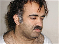 Khalid Sheikh Mohammed, shortly after his capture