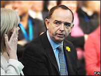 Welsh Conservative leader Nick Bourne