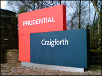 Prudential's Craigforth base at Stirling