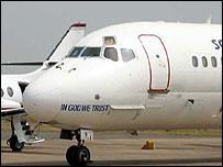 Plane in Nigeria