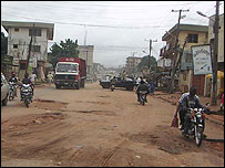 Road in Nigeria