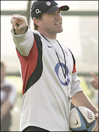England defence coach Mike Ford