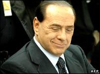 Former Italian PM Silvio Berlusconi