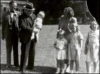 Winston Churchill and the Dutch royal family in 1948 (Photo: European Commission)