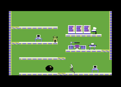 Impossible Mission game for Commodore 64