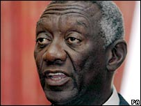 His Excellency John Agyekum Kufuor, President of Ghana