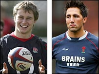 Mathew Tait and Gavin Henson
