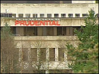 The Prudential building in Stirling