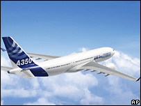 Самолет Airbus-350