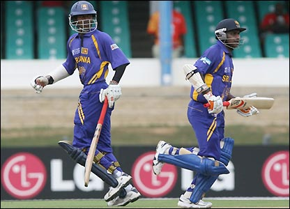 Upul Tharanga and Sanath Jayasuriya open for Sri Lanka