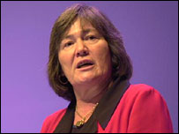 Independent MP for Birmingham Ladywood, Clare Short