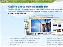 Picnik website