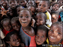 File image of children in Mozambique