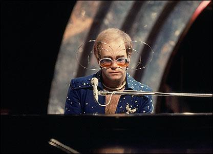 Sir Elton John in 1974