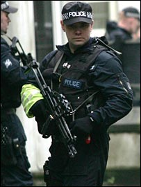 Police will be guarding against any terrorist threat to London 2012.