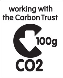 Carbon reduction label (Image: Carbon Trust)
