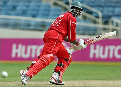 Sibanda defied Ireland's bowlers with a fine innings