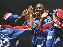 Bermuda did take six Sri Lankan wickets