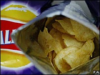 Packet of Walkers crisps