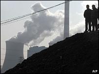 محطة توليد في الصين