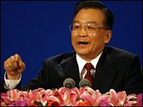 Chinese Premier Wen Jiabao - 16/3/07