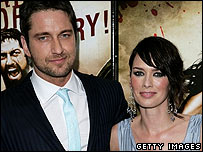 Gerard Butler and Lena Headey