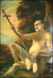 Becali as St John