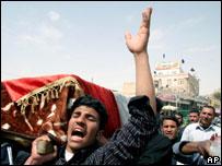 Mourning Iraqis