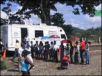 Centro de documentación para refugiados en Colombia.