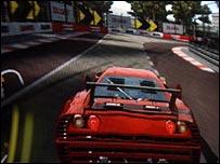 computer racing game