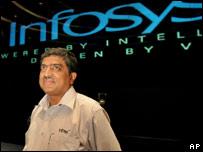 Nandan M. Nilekani, CEO of Infosys Technologies