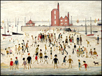 Lowry's Beach and Promenade, 1948