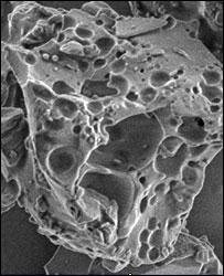 Lunar dust (Image: Larry Taylor, UT)