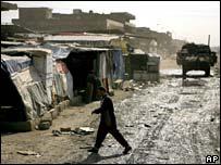 Slum in Sadr City, Baghdad
