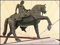 Lady Godiva statue in Coventry