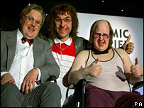 Peter Kay, David Walliams and Matt Lucas