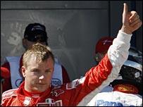 Raikkonen has stepped into Michael Schumacher's shoes at Ferrari