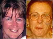 Sarah Merritt (left) and Sue Hale