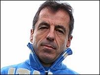 Italy coach Pierre Berbizier