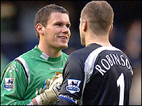 Ben Foster and Paul Robinson