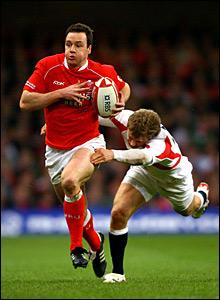 Wales' Mark Jones