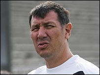 Northern Ireland manager Lawrie Sanchez
