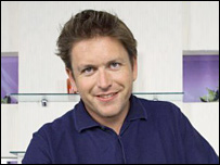 James Martin, on Saturday Kitchen