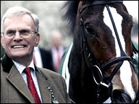 Owner Clive Smith and Kauto Star