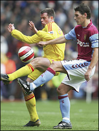 Jamie Carragher and Gareth Barry