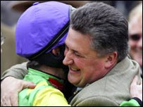 Ruby Walshe and Paul Nicholls