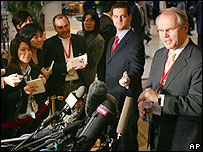Chief US negotiator Christopher Hill
