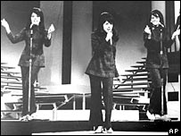 The Ronettes in 1966