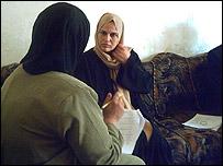 Encuestadora en Irak.