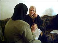 Woman interviewed for Iraq survey